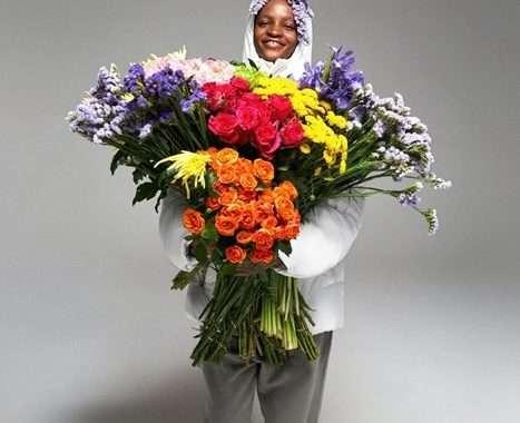 Jakna u potpunosti načinjena od cvijeća? Može!
