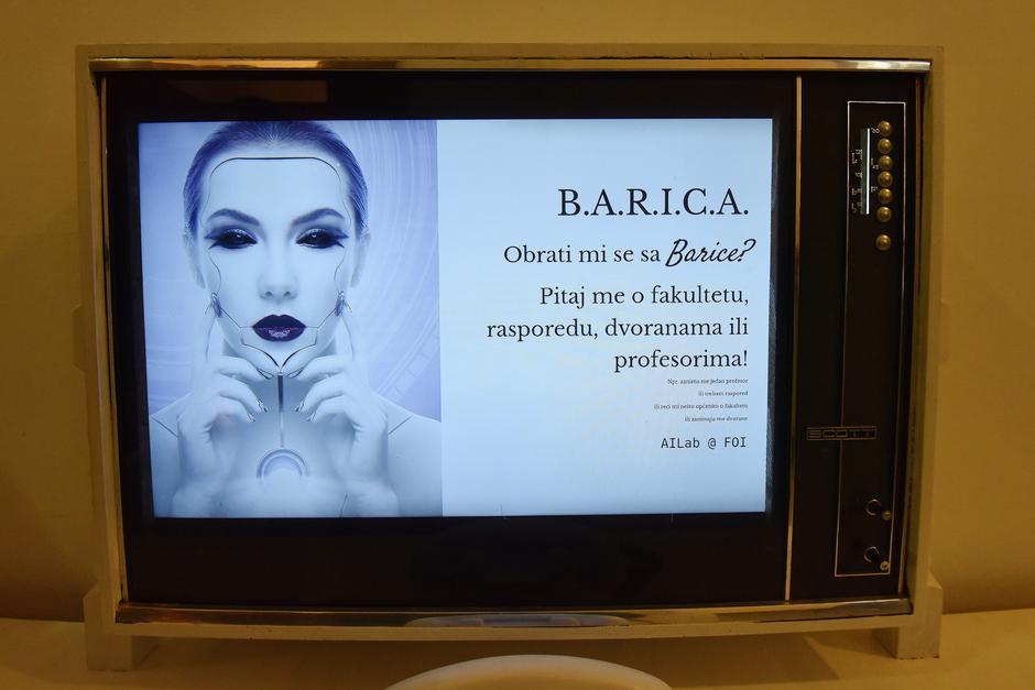 Varaždin: Na FOI-u postavljena virtualna asistentica B.A.R.I.C.A. | Autor: Vjeran Žganec Rogulja/PIXSELL