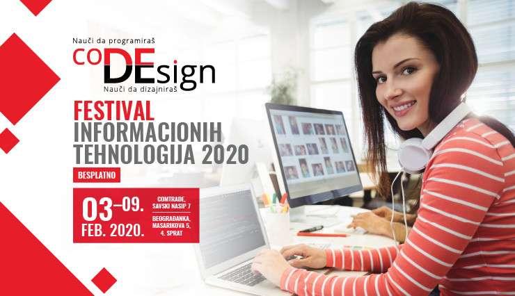 Osnovci i srednjoškolci, prijavite se za besplatnu Zimsku školu programiranja i dizajna – coDEsign2020