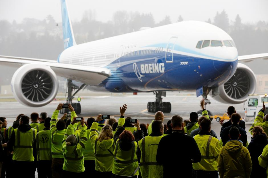Boeing stages the first flight of its 777X plane in Seattle | Autor: TERRAY SYLVESTER/REUTERS/PIXSELL/REUTERS/PIXSELL