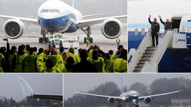 Vozit će 425 putnika: Boeing 777X na prvom probnom letu