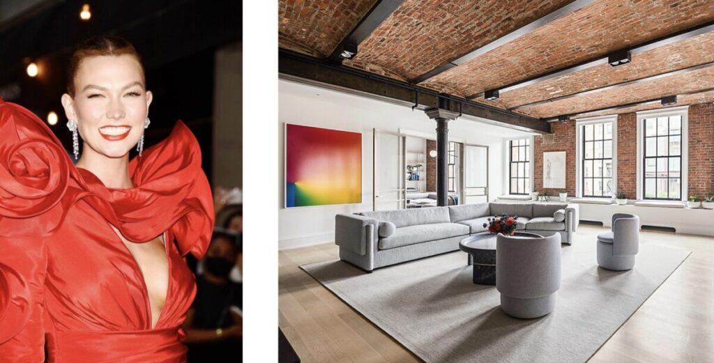 Luksuzni spoj tradicije i suvremene umjetnosti u stanu Karlie Kloss